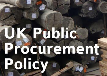 UK public procurement policy on timber